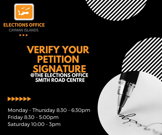 Verify Your Petition Signature